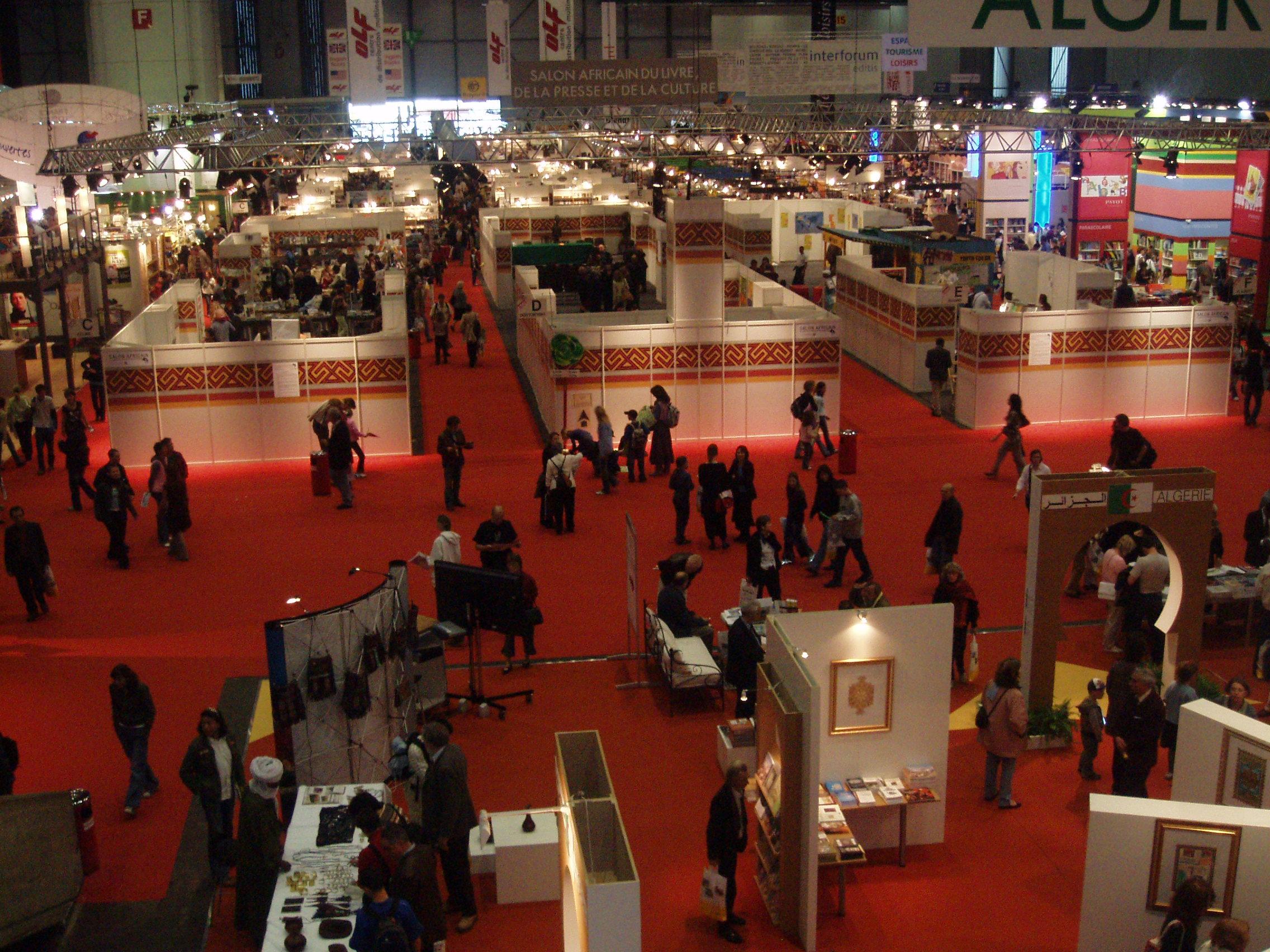 Le salon international du livre et de la presse de gen ve suisse a 20 ans congopage - Salon international de geneve ...